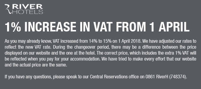 VAT Increase